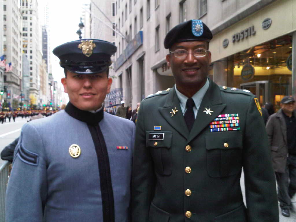 West Point Joseph McKeever and Lt. Col. Mark Smith