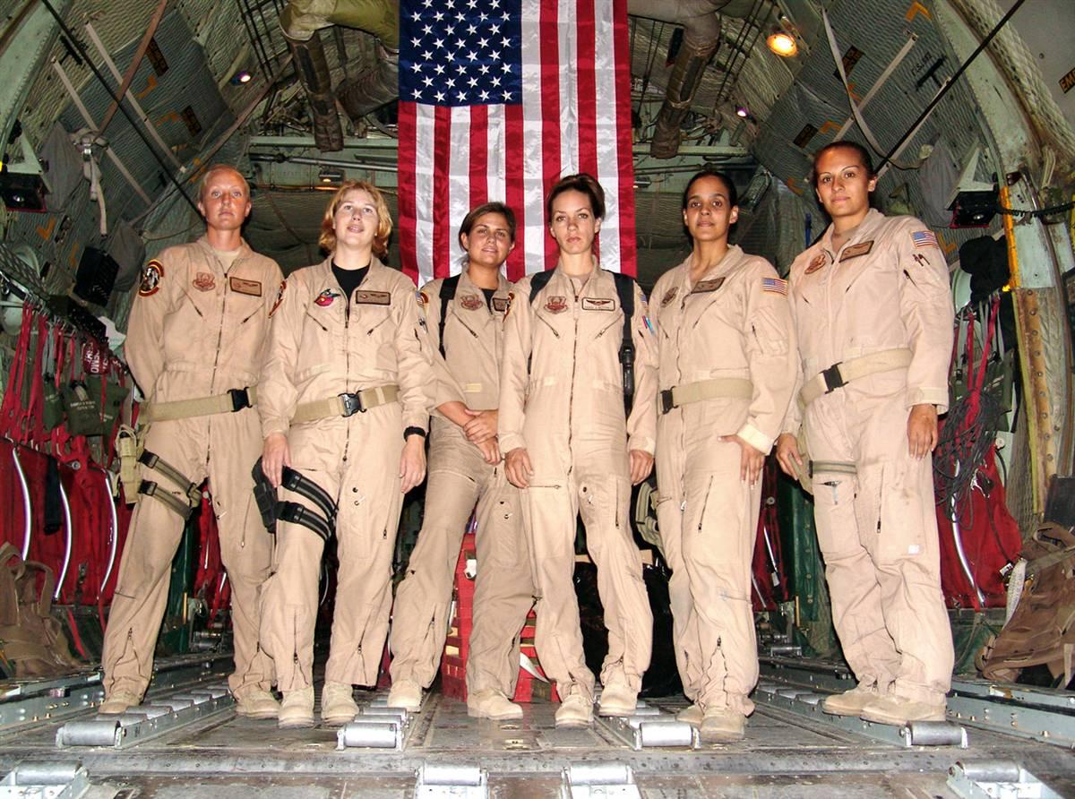 USAF All Female Flight Crew