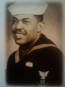 U.S. Navy and Korean War veteran, and U.S. Army World War II veteran Reubin Perry