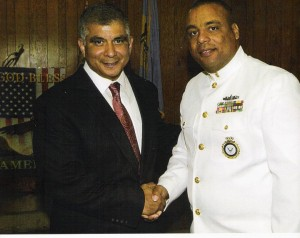 U.S. Navy Master Chief Walter Evans
